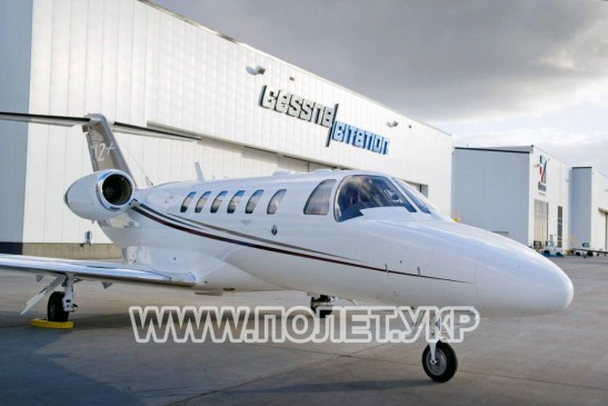 Чартер самолета Cessna Citation Jet 2