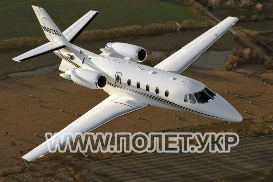 Чартер самолета Cessna Citation XLS