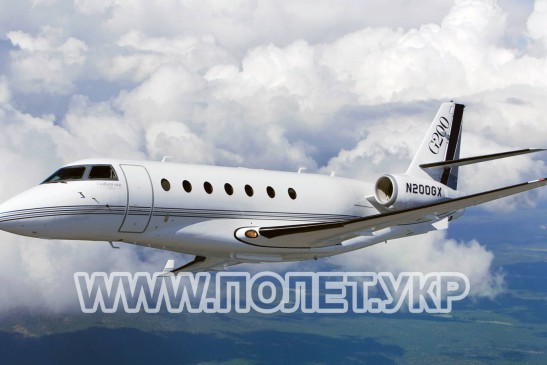 Чартер самолета Gulfstream 200