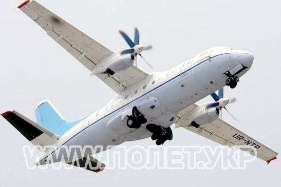 Групповой чартер на самолете Ан-140
