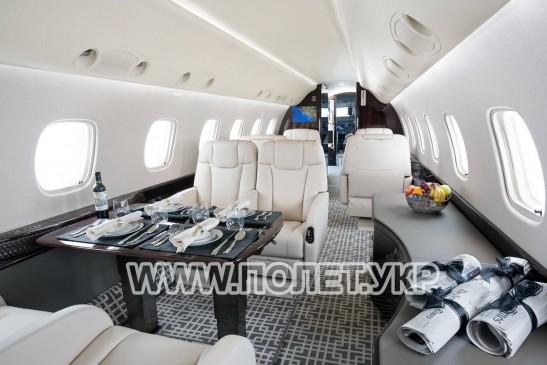 Чартер самолета Embraer Legasy 600