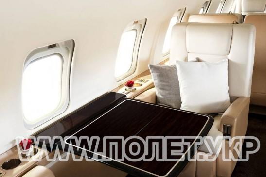 Чартер самолета Bombardier Challenger 850