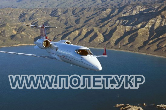 Чартер самолета Learjet 60XR