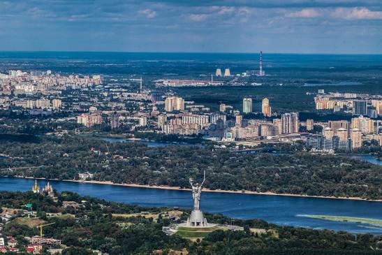 Обзорная прогулка на вертолете над Киевом