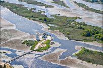 Полет на вертолете над Трахтимировским заповедником и церковью на воде - Фото