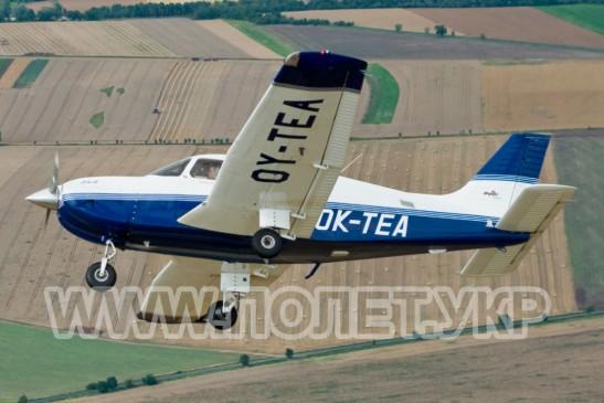 Полет на самолете Piper 28