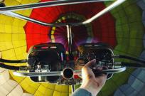 Полет на воздушном шаре – хороший подарок на День рождения - Фото
