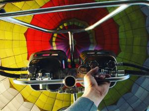 Полет на воздушном шаре – хороший подарок на День рождения