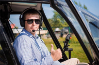 Полет на вертолете – увлекающее и незабываемое развлечение - Фото